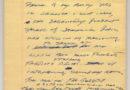 Donn's Handwritten Autobiography